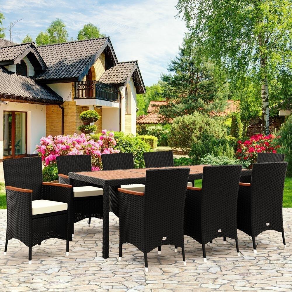 20c601841 Záhradná súprava z umelého ratanu BERLIN 8+1 | Jurhan.com