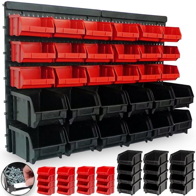 1808347d286d9 Organizér na skrutky a náradie 30 boxov - plastový   Jurhan.com